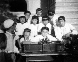 昭和27年の放送班